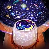 「2019最新版」ベッドサイドランプ, LightTheBo 星空ライト 家庭用 プラネタリウム ライト雰囲気を作り 星空投影 多色変更可能 360度回転 USB 電池 兼用 寝かしつけ用品 誕生日ギフト 5 セット投影映画