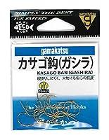 がまかつ(Gamakatsu) カサゴ鈎(ガシラ) フック 金 8号 釣り針