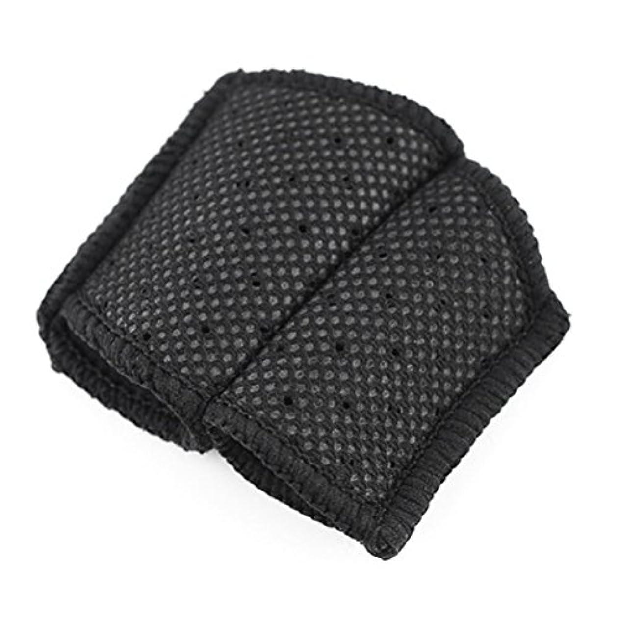ポンプ浸したオーバードローROSENICE バスケットボールのフィンガースリーブ指プロテクターバレーボール(ブラック)