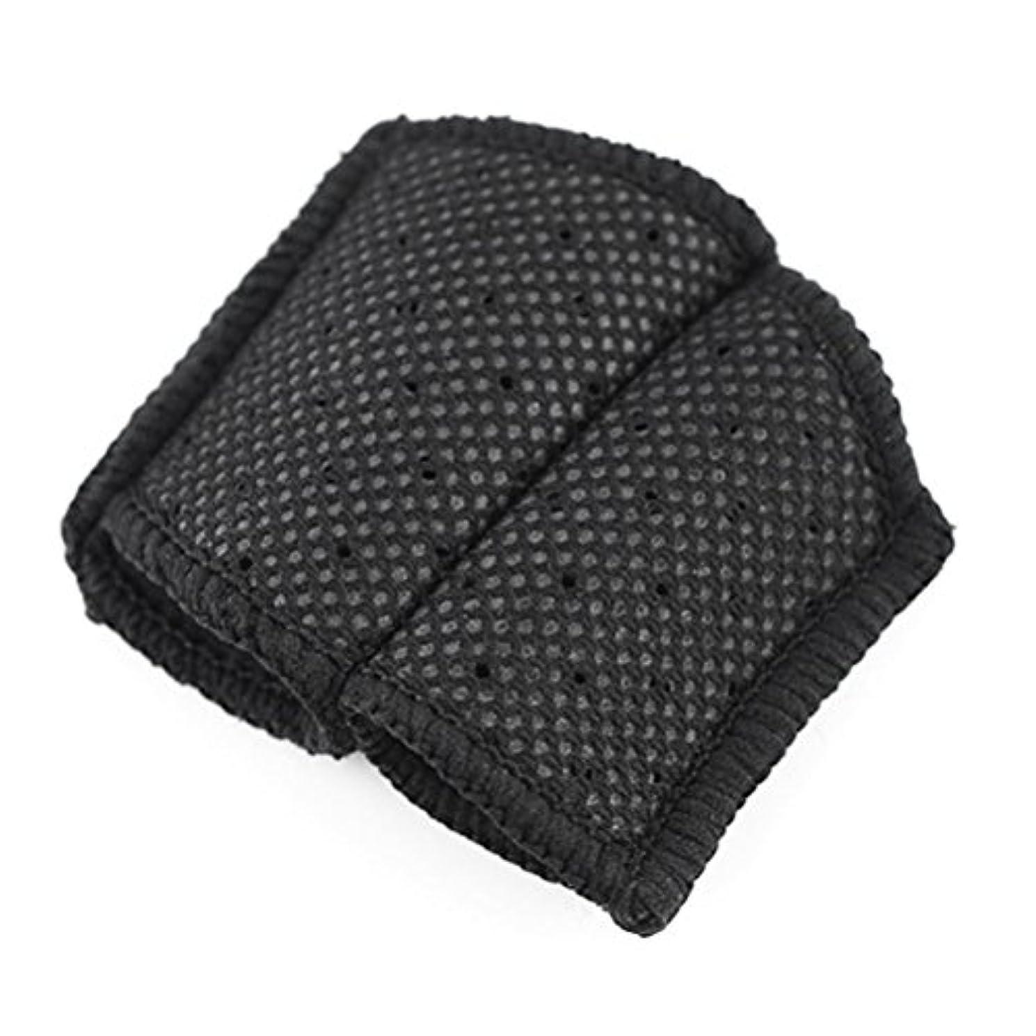 強盗スクラッチれるROSENICE バスケットボールのフィンガースリーブ指プロテクターバレーボール(ブラック)