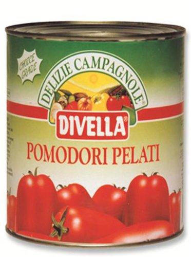 ディヴェッラ ホールトマト 缶 2500g