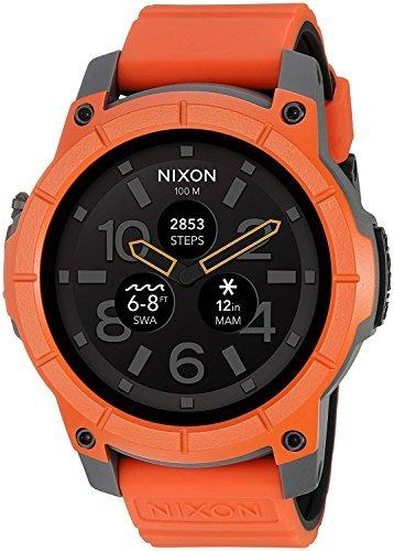 Nixon Mission Smartwatch スマートウォッチ オレンジ [並行輸入品]