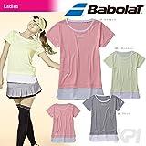 Babolat(バボラ)「Women's レディース ゲームシャツ BAB-1643W」テニスウェア「2016SS」 M NYE