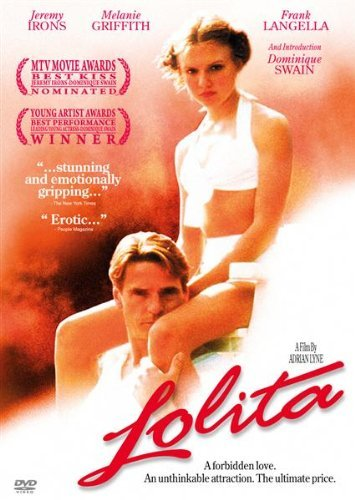 Lolita (1997) Jeremy Irons, Dominique Swain, Melanie Griffith 【海外版】