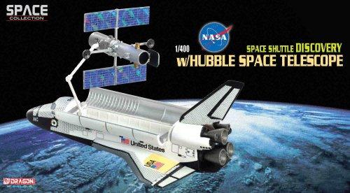 DRAGON 1/400 スペースシャトル ディスカバリー W/ハッブル宇宙望遠鏡