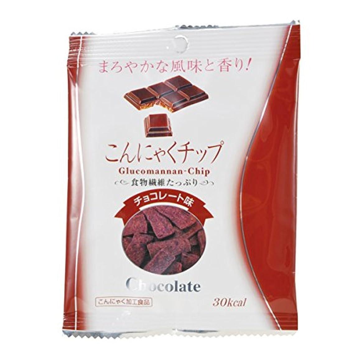ドレイン装置自然こんにゃくチップ チョコレート味 1袋(17g)