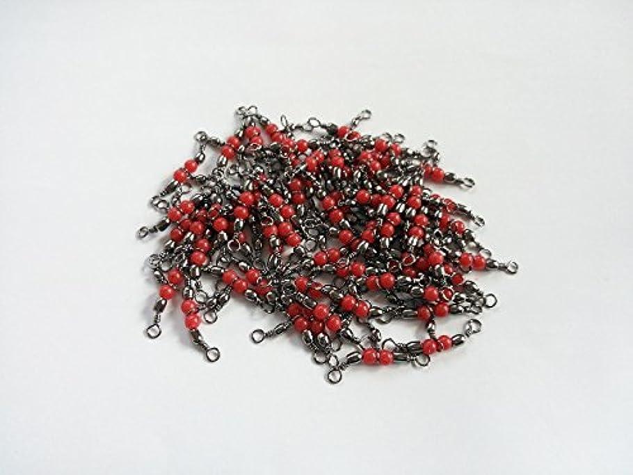 賭けマイクロプロセッサ実装するトリプルサルカン (三つ又サルカン) 50個セット 捨てオモリ仕掛け 胴突き仕掛けに カレイ カワハギ マダイ