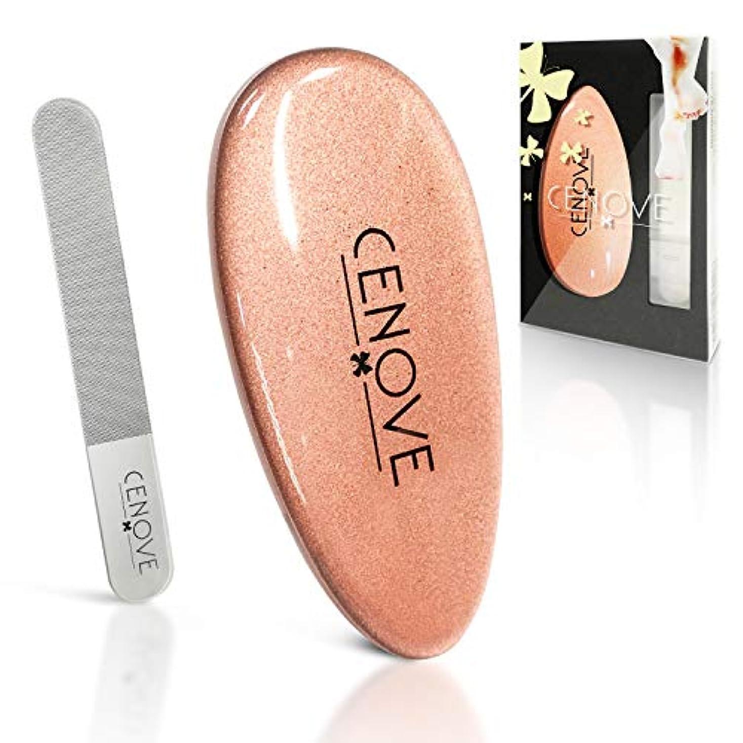 シロクマ電話名目上のかかと角質取り 爪やすり ガラス製 0.01μナノ技術 フットケア 足 かかと磨き 丸洗い