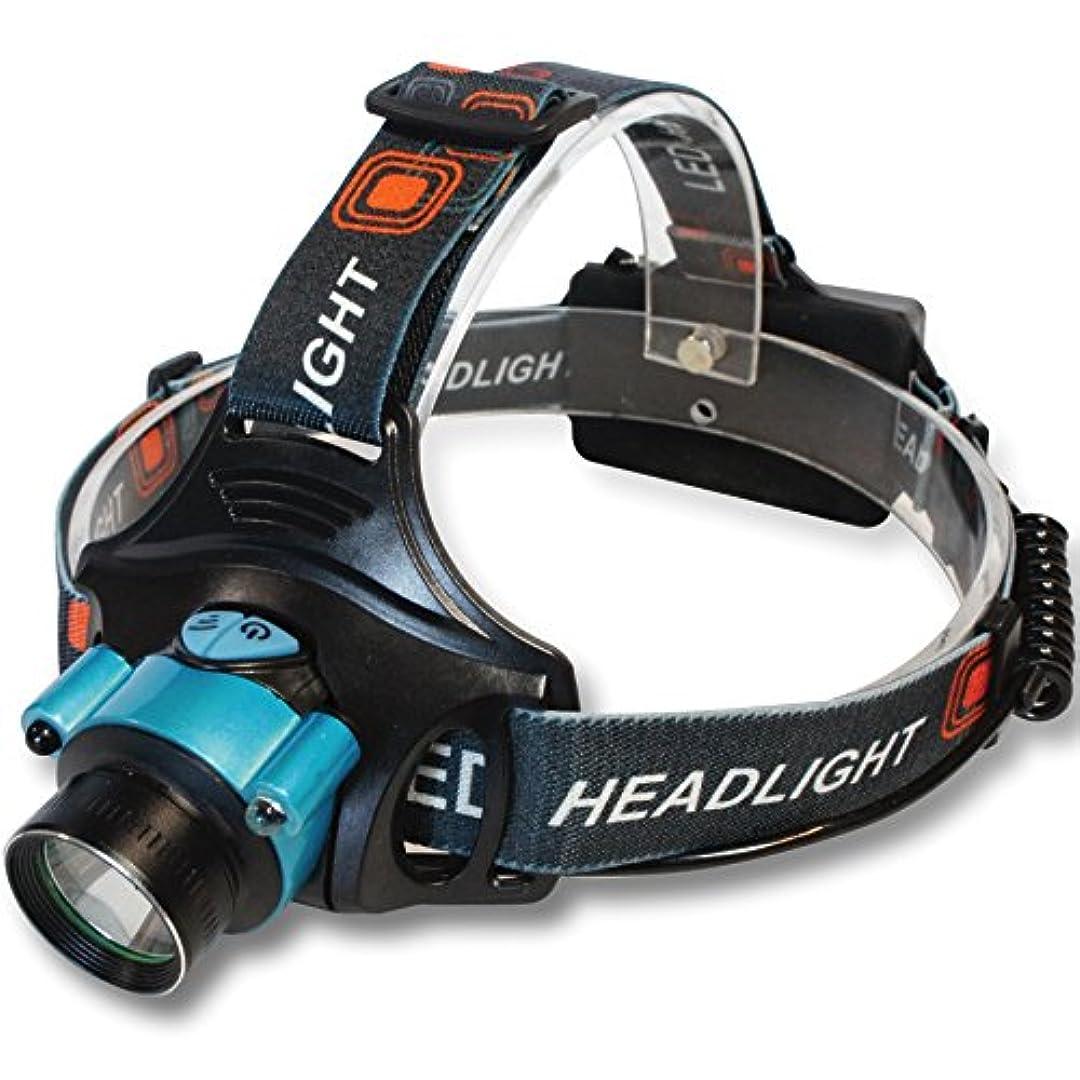 シリング黒くする幻想Rodinny poklad LEDヘッドライト 赤外線 充電式 ハンズフリー モーションセンサー【単3 電池 18650 両対応】