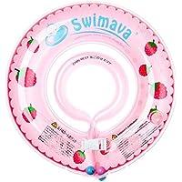 Swimava 【日本正規品60日保証】うきわ首リング(ピンクベリー) SW120PKB