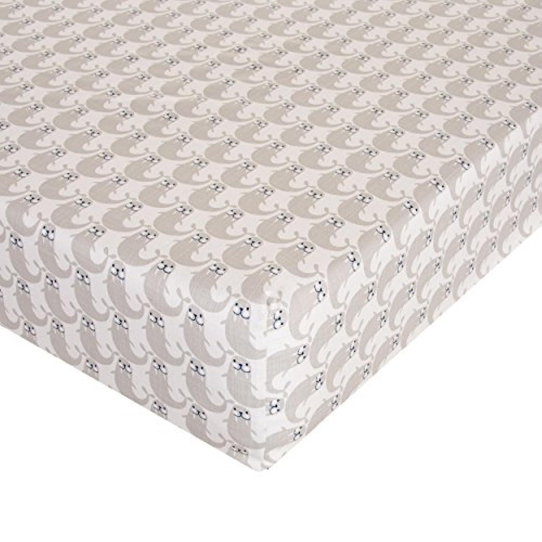 Glenna Jean Walrus Crib Sheet Fitted 28x52x8 Nursery Standard [並行輸入品]