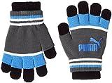 (プーマ)PUMA アクセサリー ツーレイヤー マジック グローブ 041285 [ユニセックス] 03 プーマ ブラック/エレクトリック ブルー レモネード/プーマ ホワイト/エボニー M(19cm)