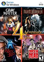 Adventure 4 Pack : Gray Matter, Black Mirror II, Alter Ego, Rockin' Dead(輸入版)