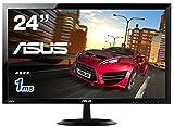 ASUS ゲーミングモニター24型 フルHDディスプレイ (応答速度1ms/HDMI×2ポート,D-sub/スピーカー内蔵/3年保証) VX248H