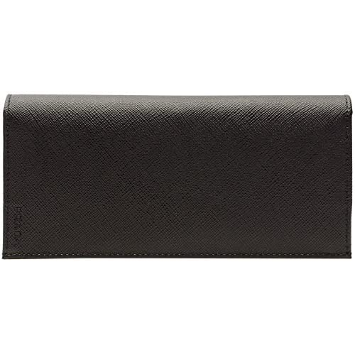 (プラダ) PRADA 財布 長財布 二つ折り メンズ ブラック レザー 2mv836saf-nero アウトレット ブランド [並行輸入品]