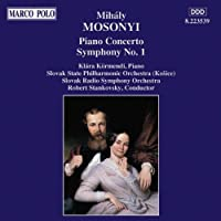 Mosonyi/Pno Cto/Sym 1 by Kormendi/Slovak Rso/Stankovsky (1994-04-22)