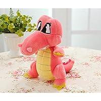 HuaQingPiJu-JP 赤ちゃんの贈り物のためのぬいぐるみのぬいぐるみぬいぐるみ動物玩具子供の誕生日パーティーギフト18センチメートル長い(赤)