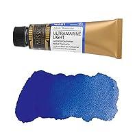 ミッションゴールドクラス 水彩絵具 (青色系) ウルトラマリンライト 15mL (W581) B (mission gold class water color) [ 透明水彩絵具 最高級 顔料 発色性 耐光性 専門家用 プロ用 アーティスト用 画材 水彩画 水彩絵の具 えのぐ 単色 ]