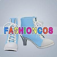 ★サイズ選択可★女性22CM UA0062 DanceEvolution ARCADE ダンスエボリューション 西園寺 あかり コスプレ靴 ブーツ