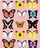 トゥルー・ハート 壁紙デコ 立体3D 蝶々装飾ステッカー シール ちょうちょ/15種類1セット TSI-2
