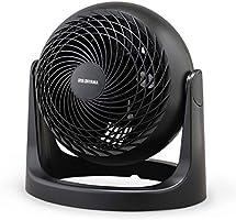アイリスオーヤマ サーキュレーター 静音 首振り固定 8畳 パワフル送風 ホワイト/ブラック PCF-HD15N-W/B