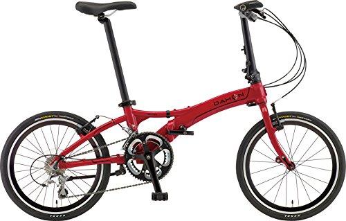 DAHON(ダホン) 折りたたみ自転車 Visc D20 インターナショナルモデル 20インチ 2016年モデル 20段変速 アルミフレーム Fire Red ARA003