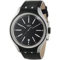Swatch Women's YES4003 Go Cycle Year-Round Analog Quartz Black Watch