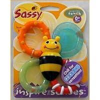 サッシーのバンブルバイツ おもちゃ もう皆様ご存知の大人気歯固め 冷え冷え歯固め 出産祝いやギフトにもどうぞ