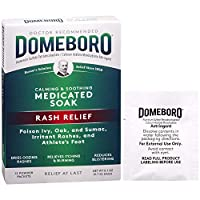 Domeboro Astringent Solution, one box of 12 packets by Domeboro