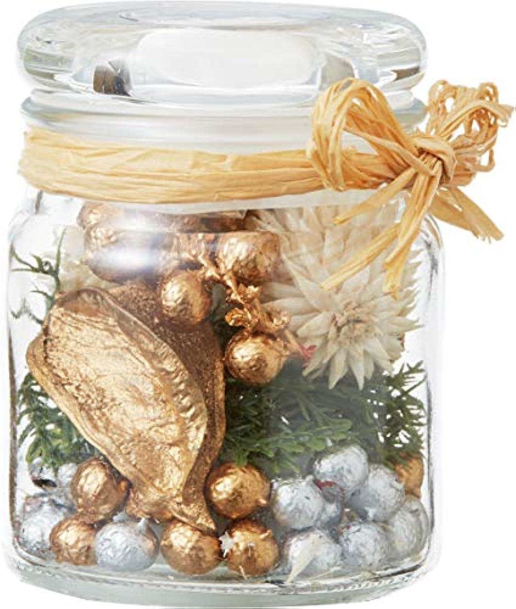 狂う示す魅力的であることへのアピールカメヤマキャンドルハウス クリスマスボヌールグラスポプリ サパンドノエ 1個