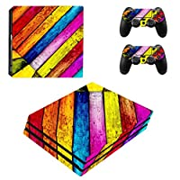 Zhhlinyuan 安定した品質 Vinyl Skin Sticker Protective ステッカー Case for PlayStatio PS4 Pro Console+Controllers ZY0282