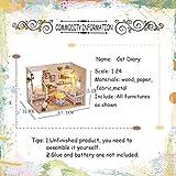 Best HAPE誕生日おもちゃ - LQT Ltd ドールハウス 家具 DIY ミニチュア ダストカバー 3D Review