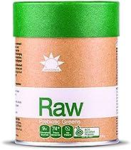 Amazonia Raw Prebiotic Greens, 120 grams