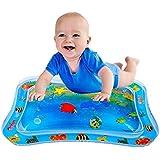 空気注入式お腹タイムプレミアムウォーターマット 幼児&幼児 完璧な楽しい時間遊びアクティビティセンター 赤ちゃんの刺激の成長(26インチ 20インチ) 26 * 19.7in FWM190301202_2