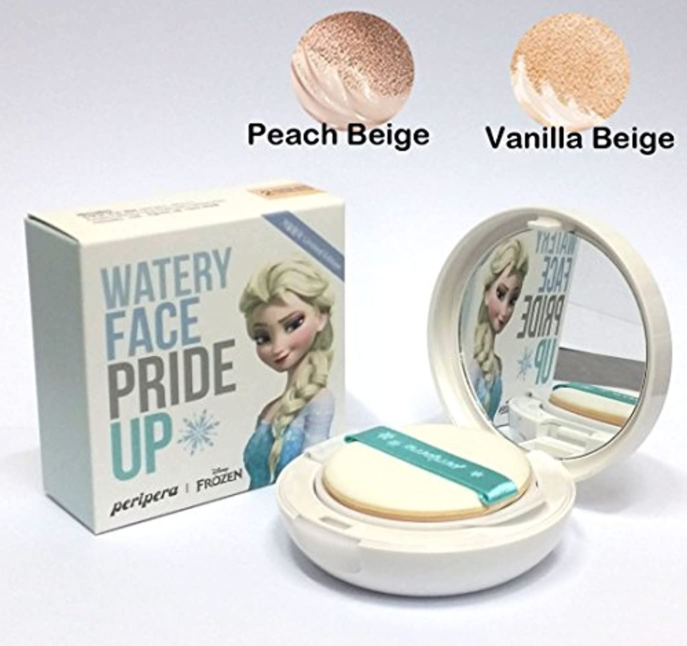ノミネートモック保証金[PERIPERA] Watery Face Pride Up! Cushion Pact SPF50+ PA+++ 13g / 水面がプライドアップ!クッションパクトSPF50 + PA +++ 13g / #1. Peach...