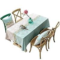 テーブルクロス 布なめらかなミニマリストの長方形のヨーロッパのテーブルクロス生地コーヒーテーブルのリビングルームの長方形のホームテーブルクロス、11サイズ (Size : 85*85cm)
