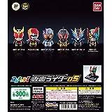 コレキャラ! 仮面ライダー05 [全6種セット(フルコンプ)] バンダイ ガシャポン