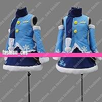 男性Lサイズ QK302 VOCALOID 雪ミク 初音MIKU 冬服 コスプレ衣装