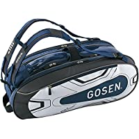 ゴーセン(GOSEN) テニス バドミントン ラケットバッグ Pro4 BA18PR4G ネイビー(17)