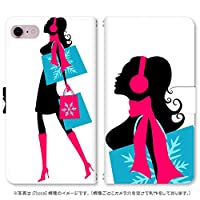スマホ スマートフォン 手帳 スマホケース Shopping GIRL 【2186_GIRL2|TSUTAYA TONE m15】