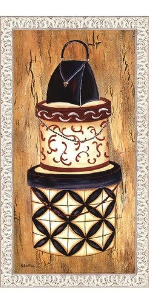 でも乳製品確かなヴィンテージハットボックスI by Krista Sewell – 12 x 24インチ – アートプリントポスター LE_56281-F9711-12x24