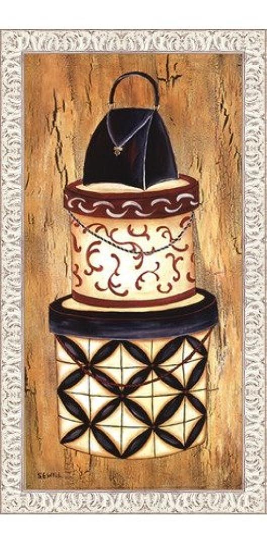 ヴィンテージハットボックスI by Krista Sewell – 12 x 24インチ – アートプリントポスター LE_56281-F9711-12x24