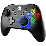 GameSir T4 Pro Wireless Bluetooth Controller for Nintendo Switch, Switch Pro Controller with LED Backlight, Turbo Gamepad Joy