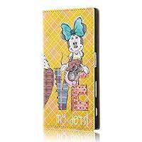 イングレム Xperia XZ ディズニー キャラクター 手帳型 ケース/ミニーマウス8 IJ-RDXPXZLC/MN008