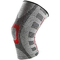 竹炭弾力性膝パッド、屋外強化スポーツフィットネスヨガの膝パッド (サイズ さいず : シングル)