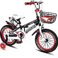 DGF 子供用自転車3~12歳のベビー用自転車男性用と女性用自転車用ベビーカー (色 : Red, サイズ さいず : 16 inches)