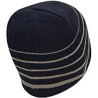 テーラーメイド2017熱フリースストライプビーニーニットメンズゴルフ帽子