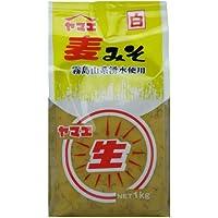 ヤマエ食品 白生みそ麦 1kg