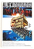 Conquest of the Planet of the Apes映画ポスター冷蔵庫マグネット( 2.5X 3.5インチ)