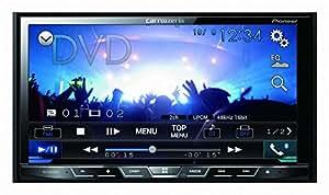 カロッツェリア(パイオニア) メインユニット 7型ワイドVGAモニター/CD/DVD/USB/Bluetooth FH-9100DVD